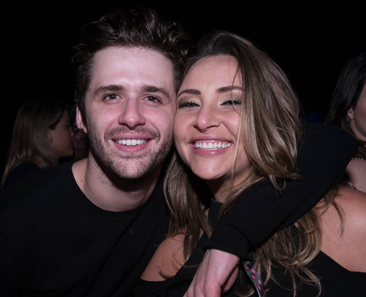 Gil Coelho e Keila Zago
