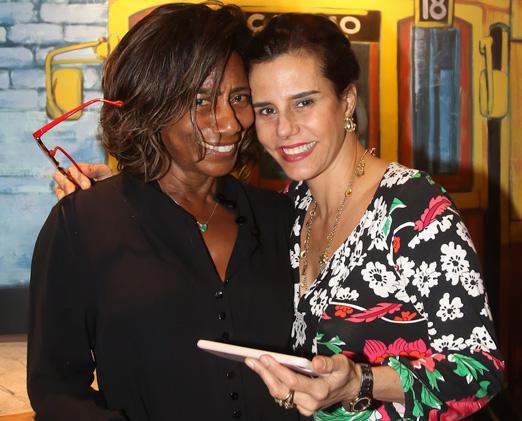 Glória Maria e Narcisa Tamborindeguy