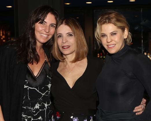 Glenda Kozlowski, Liège Monteiro e Barbara Paz