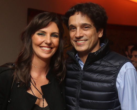 Glenda Kozlowski e Luis Tepedino
