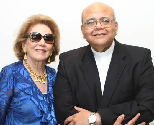 Idinha Seabra Veiga e Padre Jorjão