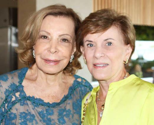 Ilka Bambirra e Cecilia Dornelles