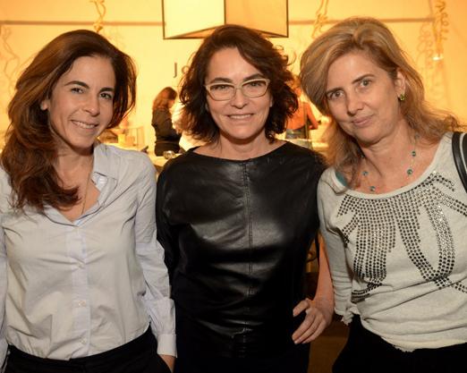 Jackie de Botton, Evangelina Ceila e Kika Gama Lobo
