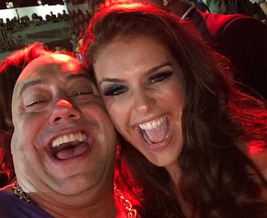 Joãozinho King e Paloma Bernardi