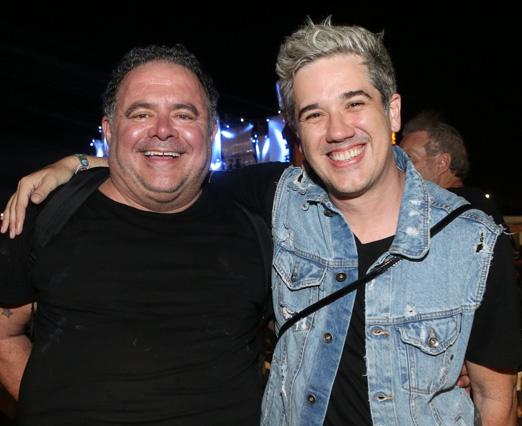 Leo Jaime e Rogério Flausino