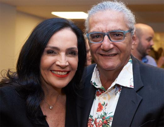 Liliana Rodriguez e Jorge Salomão