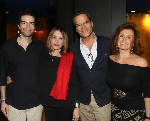 Luiz Fernando Coutinho, Liège Monteiro, Jaime Leitão e Maria Eduarda Grillo