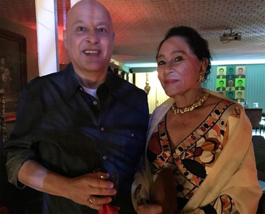 Luiz Xavier e Myriam Gagliardi