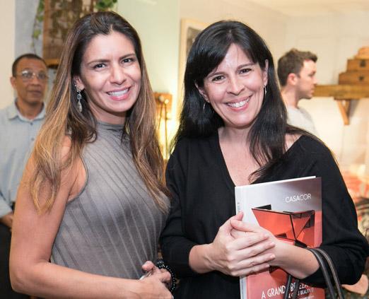 Luzia Freire e Cristina Bezamat