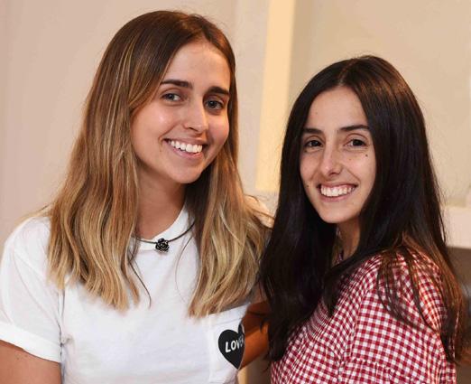 Luiza Schroder e Maria Antonia Ferraz
