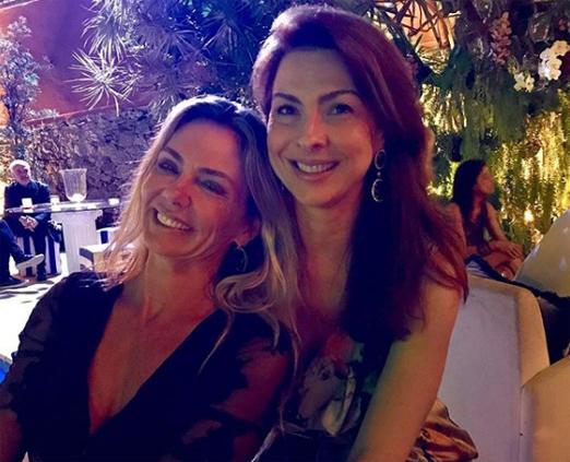 Márcia Veríssimo e Mylene Peltier