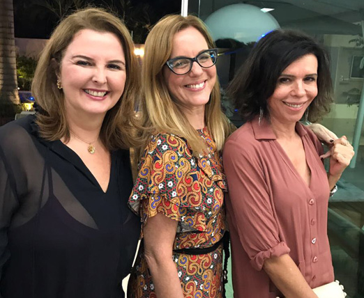 Mara Pagani, Marcia Disitzer e Lu Lacerda