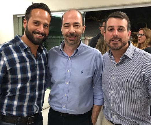 Marcelo Calero, André Marini e Daniel Soranz