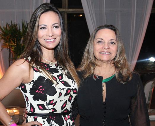 Marcia Romão e Maria Araújo