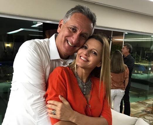 Marcus Vinicius e Claudia Freire