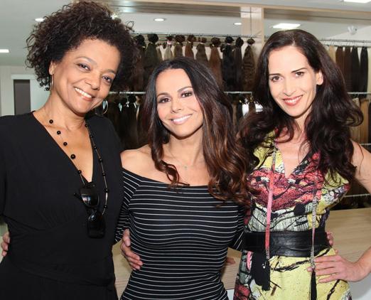 Maria Ceiça, Viviane Araújo e Ingra Liberato