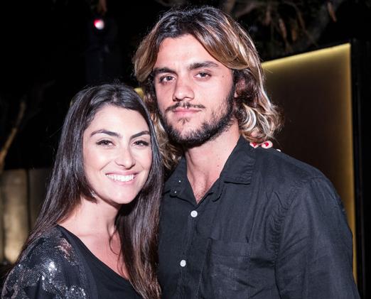 Mariana Uhlmann e Felipe Simas