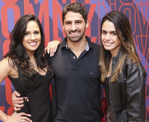 Marjorie Egypto, JC Lopes e Rafaela Muller