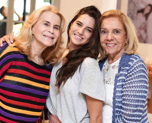 Nadia Curvello, Maria Antonia Chady e Rene Chady
