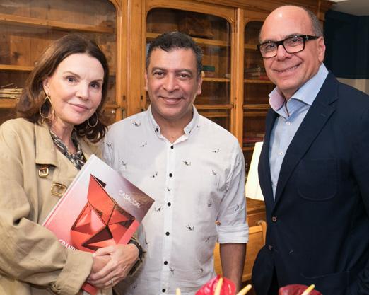 Patricia Mayer, Pedro Ariel e Arnaldo Danemberg