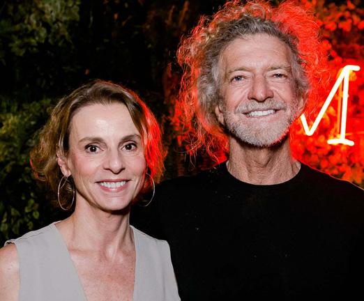 Patricia Veiga e Ari Svartsnaider