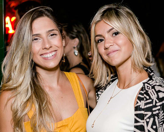 Rachel Beyruth e Camilla Malheiros