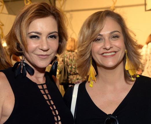 Rachel Chreem e Cristina Menezes