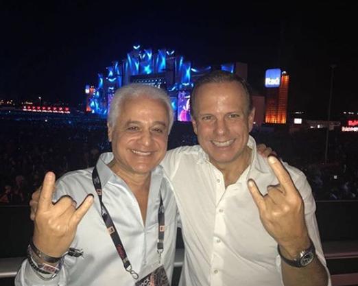 Roberto Medina e João Doria