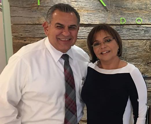 Rolando Perez e Denise Simões
