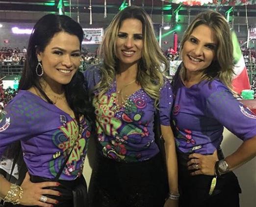 Rosa Leal, Ana Paula Barbosa e Adriana Indelli