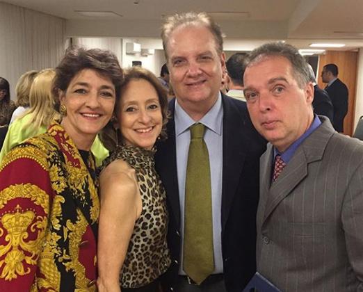 Sonia Mattos, Ana Botafogo, Rawlson de Thuin e Bayard Boiteux