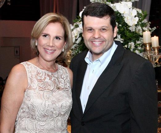 Sylvia Jane Crivella e Carlos Lamoglia