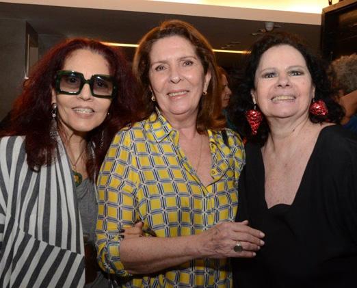 Tania Caldas, Patricia Young e Maria Vasco