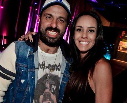 Tico Sahyoun e Luciana Arcangeli