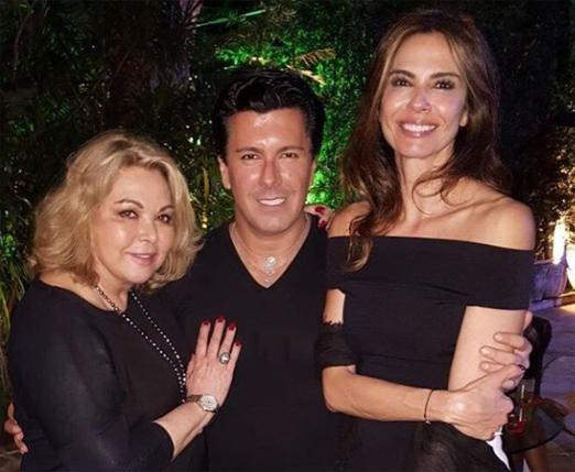 Vera Gimenez, André Ramos e Luciana Gimenez