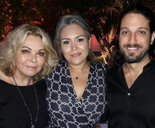 Vera Gimenez, Silvana Rocha e Marco Antonio Gimenez