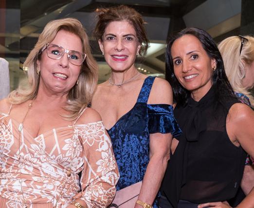Viviane Cohen, Vania Chami e Valeria Peixoto
