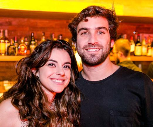 Wanessa Sangineto e Pedro Eisenberg