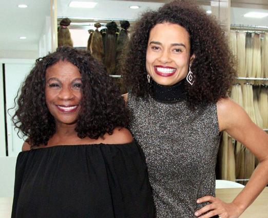 Zezé Mota e Aisha Jambo