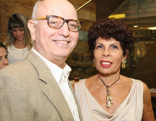 Alberto Sabino e Leilane Castanheira