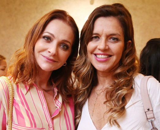 Alexandra Richter e Marcia Dornelles