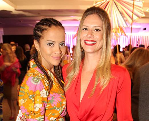 Aline Borges e Rachel Gutvilen