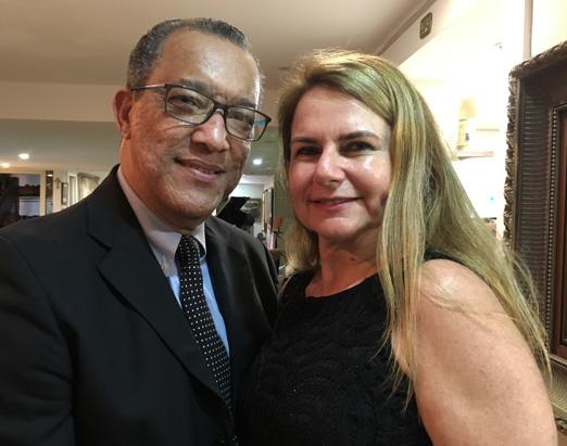 Amaro Leandro Barbosa e Luciana Jaroslavsky