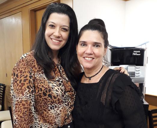 Ana Isabel Carvana e Joana Maria Teixeira