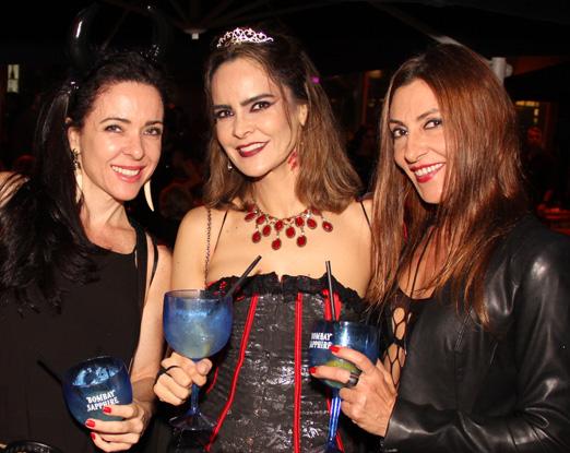 Ana Paula Bitton, Gabriella Vasconcellos Carvalho e Vanessa Flores