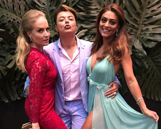 Angélica, David Brazil e Juliana Paes