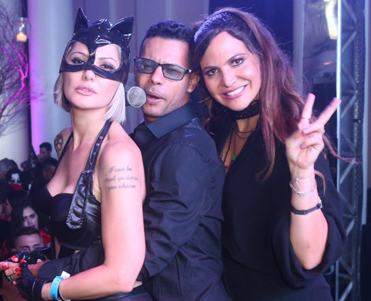 Antonia Fontenelle, MC Andinho e Carol Sampaio