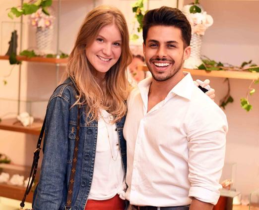 Antonia Zander e Rodrigo Coelho
