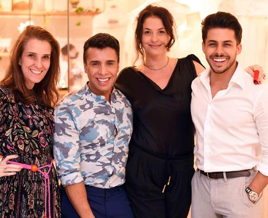 Bebel Schmidt, G Junior, Marta Macedo e Rodrigo Coelho