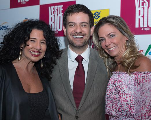 Bianca Teixeira, Bruno Astuto e Márcia Veríssimo